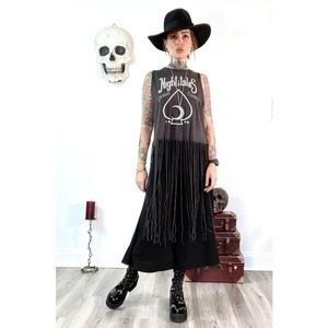 Divided x H&M fringed festival tee